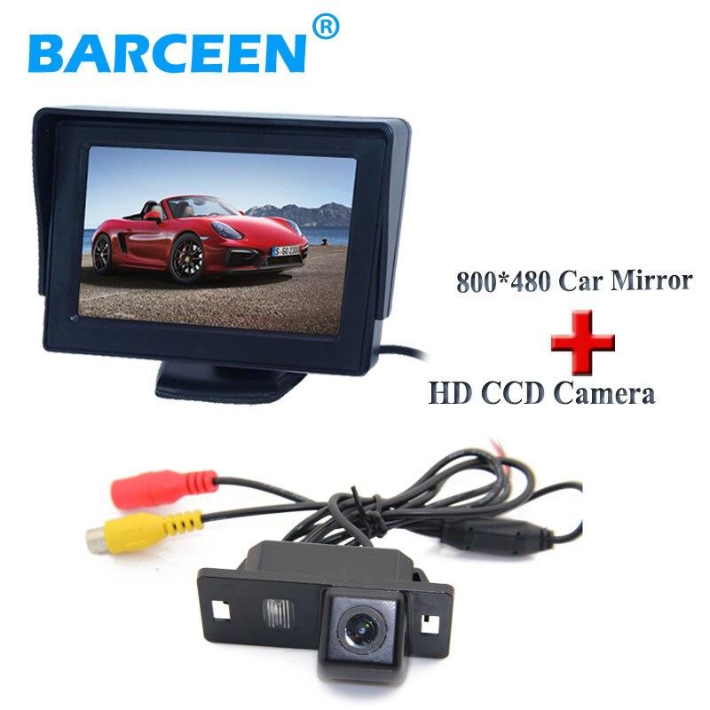 Origianl car use In-Dash Placement 4.3 hd screen car monitor + car rear camera fit for Audi A4L 2013~2014 / TT/ A5/ A6/Q5