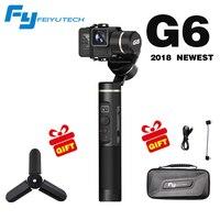 2018 новые Feiyu G6 экшн-камеры Gimbal bluetooth версия обновления для Gopro Hero6/5 RX0 Сяо Yi PK гладкой Q гладкой 4 Evolution