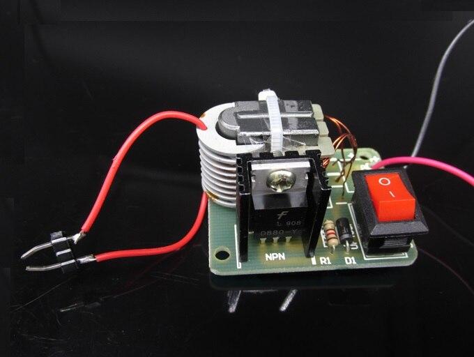 15KV High Voltage Inverter Generator Spark Arc Ignition Coil Module DIY Kit 3.7V