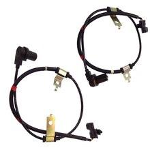 2 unids/lote mr977447 y mr977446 frente abs sensor para mitsubishi pajero shogun pinin io h67w h76w h77w 4g93 4g94 mr977446 mr977447