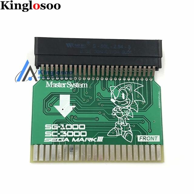 SMS2SG1000 Sega Master System (미국 버전) Sega MARK III (일본어 버전) 어댑터 SMS 어댑터