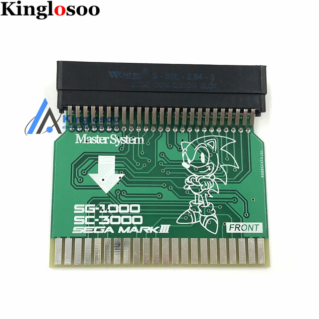 SMS2SG1000 Sega Master System (U.S. Version) to Sega MARK III (Japanese Version) Adapter SMS Adapter