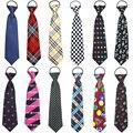 Impresso colorido crianças gravata meninos meninas estudantes engraçado gravata gravata festa de aniversário reunião cerimônia 4 - 14 anos de idade gravatas