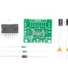 1set TDA7297 amplifier board spare parts dc 12v grade 2.0 dual audio encoding 15