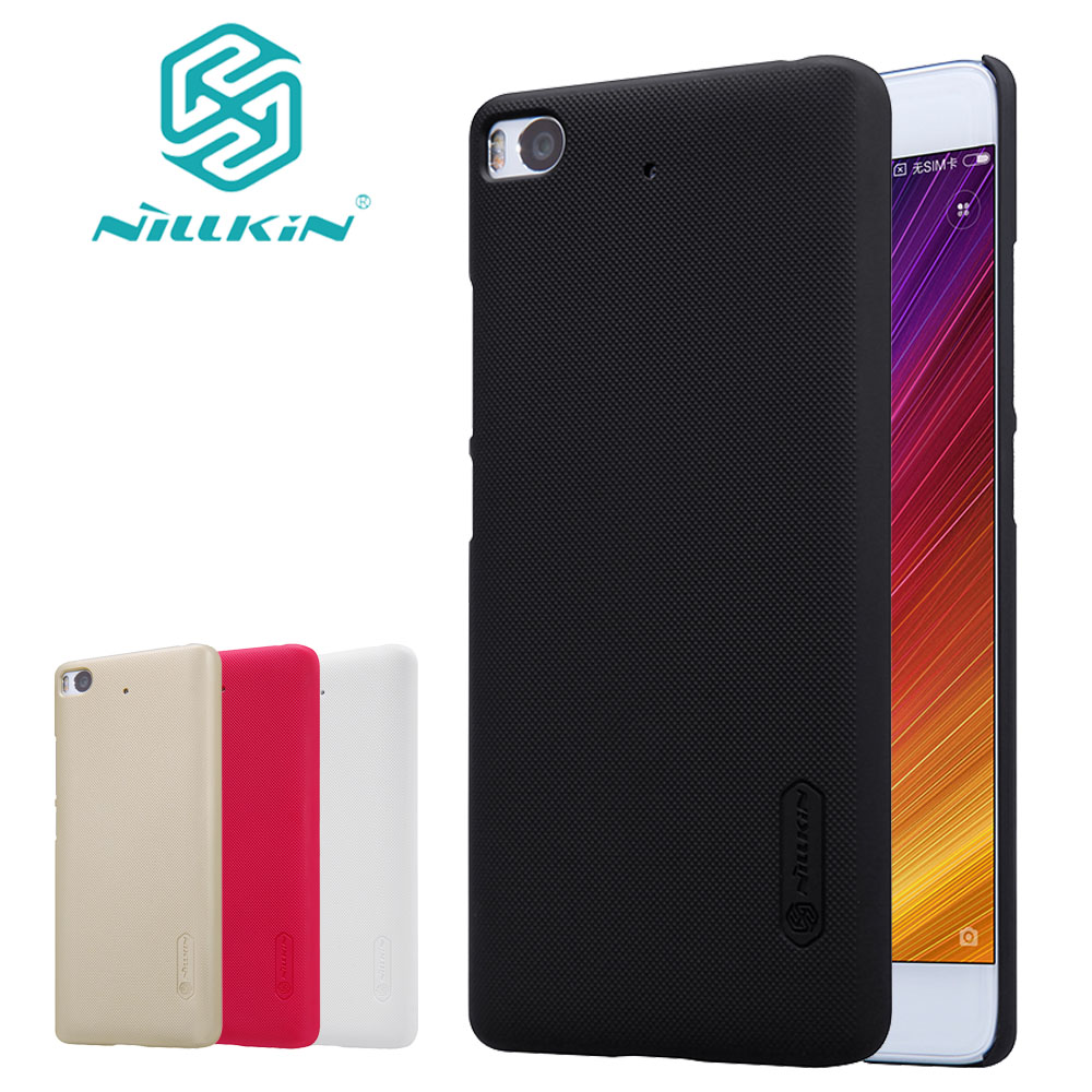 Nilkin for Xiaomi Mi 6 5 5S 5X 5C Case Nillkin Frosted Shield Hard PC Back Phone Cover for Xiaomi Mi6 M6 Mi5 M5 Mi5s Mi5X Mi A1