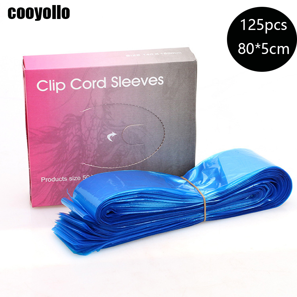 125Pcs 80*5cm Disposable Tattoo Machine Clip Cord Sleeves Medical Plastic Tattoo Gun Cable Covers Bags Tattoo Accessory Supplies125Pcs 80*5cm Disposable Tattoo Machine Clip Cord Sleeves Medical Plastic Tattoo Gun Cable Covers Bags Tattoo Accessory Supplies