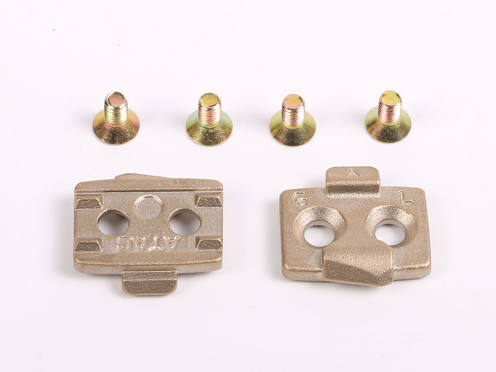 Costelo MTB Bike Pedals bike cleats Bicycle Cycling Parts brass 1 pair free shipping in Bicycle Pedal from Sports Entertainment