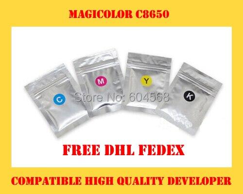 High quality developer powder compatible for Konica Minolta magicolor c8650 Free Shipping DHL FEDEX