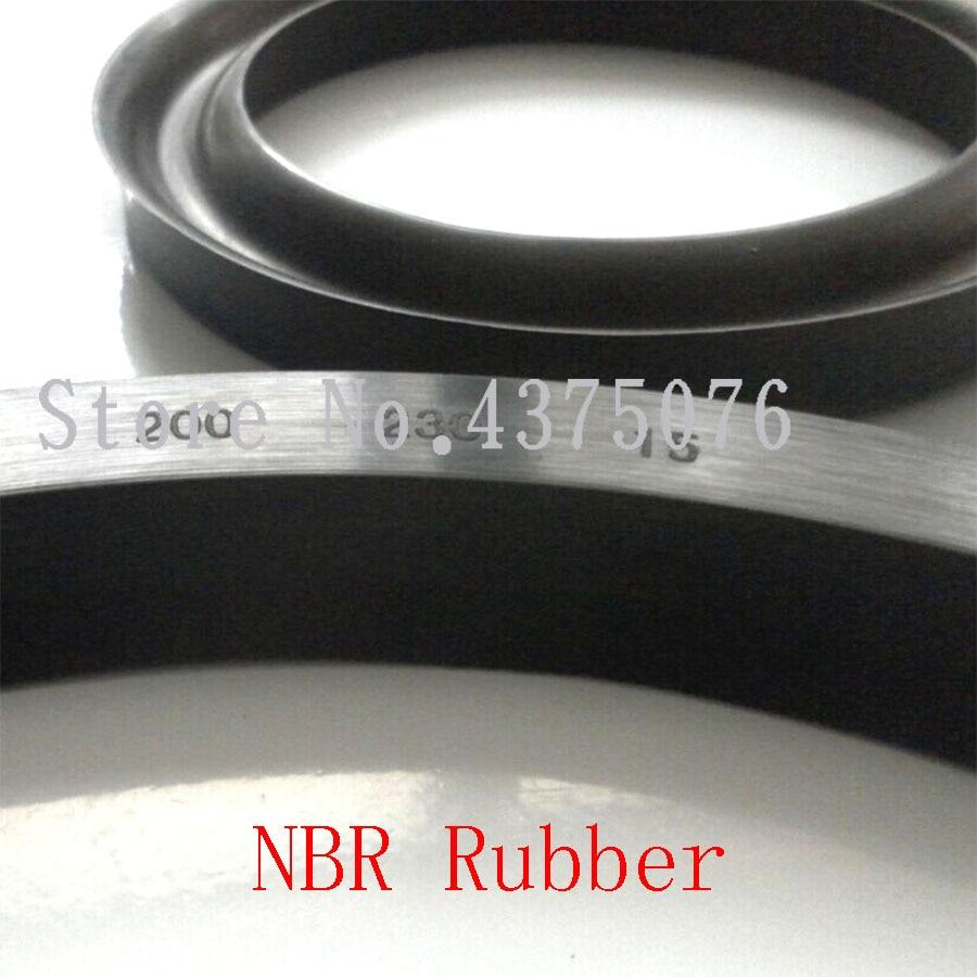 25*40*8/10/25*45/25*47/28*48/30*50/32*52/35*55*10/12 Y Shaped Black NBR Hydraulic Press Piston Rod Currency U Lip Shaft Oil Seal