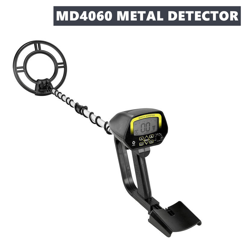 Portable Underground Underwater Metal Detector Gold Treasure LCD Display Professional Metal Detector Searching Treasure MD4060