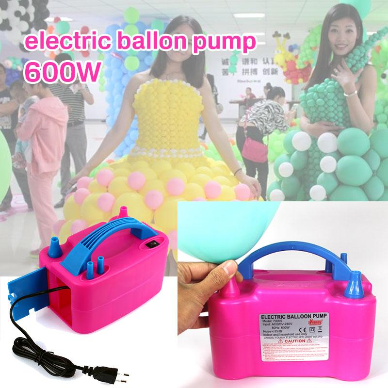 Ballon gonfleur ballon pompe à Air électrique ballon pompe électrique 600 w rose plastique ventilateur gonflable ballon Durable intérieur