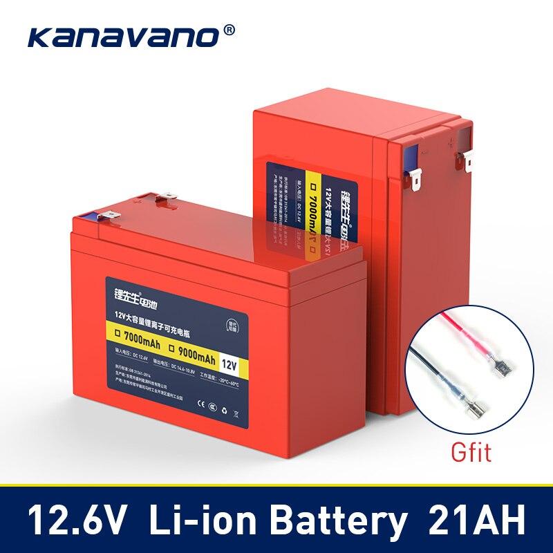 12V 7A 9AH 12AH 15AH 21Ah lithium li ion batterie rechargeable pour voiture jouet pulvérisateur échelle contrôle d'accès enfants jouet airplan