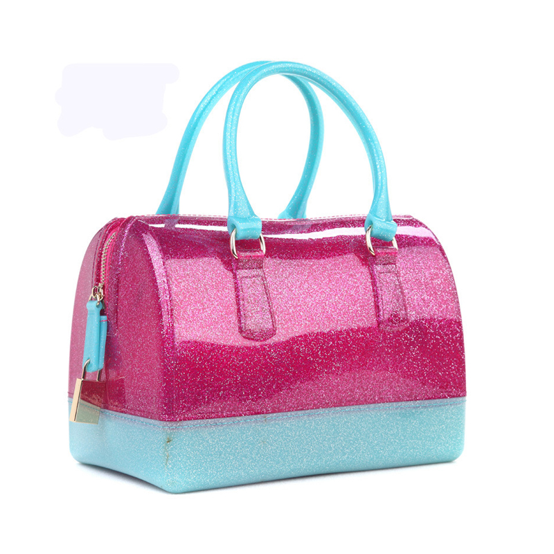 Aliexpress.com : Buy LALA IKAI Trendy Ladies PVC Jelly Handbags ...
