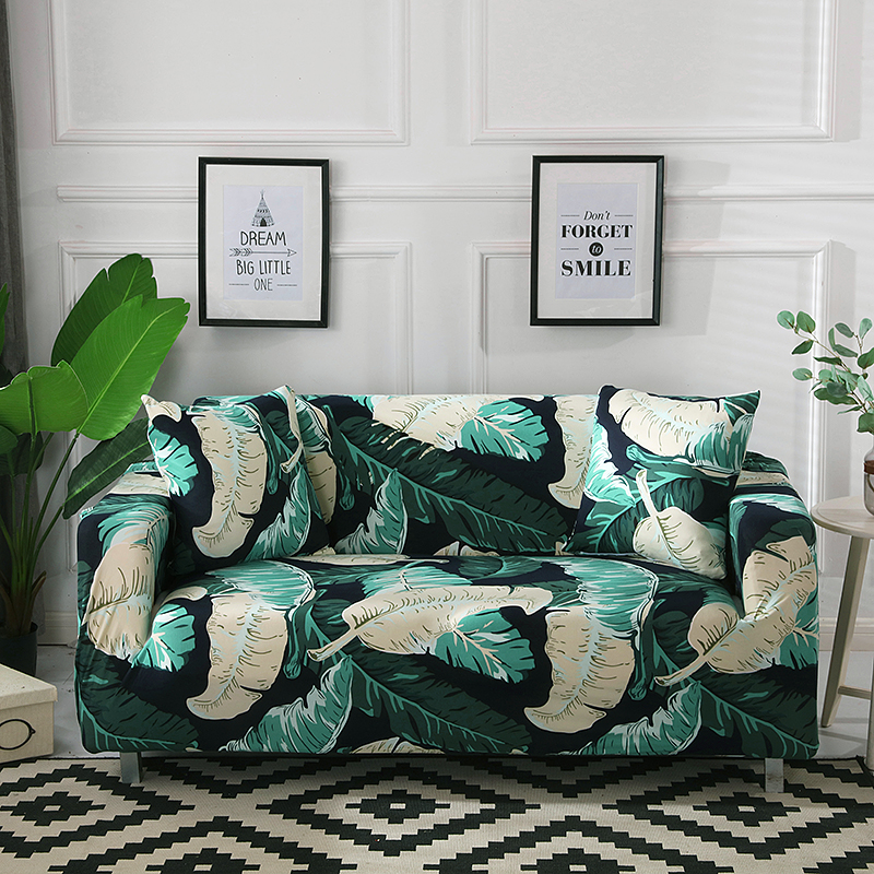 Best Deal #d2278 - Leaves Printed Armchair Sofa Covers Sofa ...
