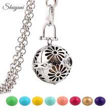 ФОТО 10pcs!! shuyani mexican bola harmony ball pendant angel caller necklace mix design musical sound bola balls for pregnant women