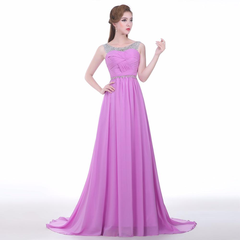 Online Get Cheap Caliente Púrpura Largo De Dama De Honor ...