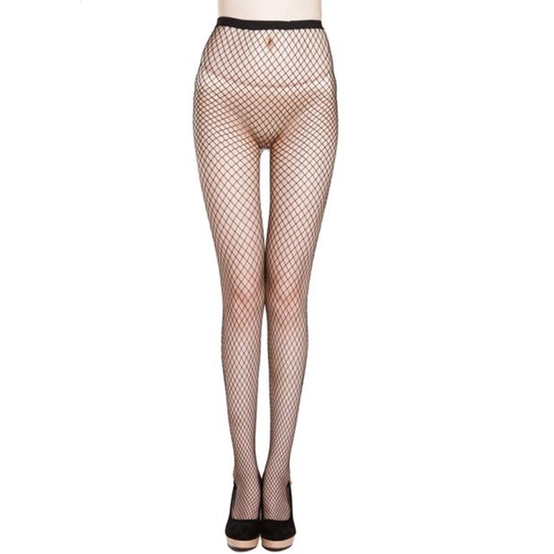 Sexy Mesh Fishnet Pantyhose 2017 New Spring Summer Women Black Slim Fishnet Tight Net Long Stockings Party Club Hosiery Lingerie