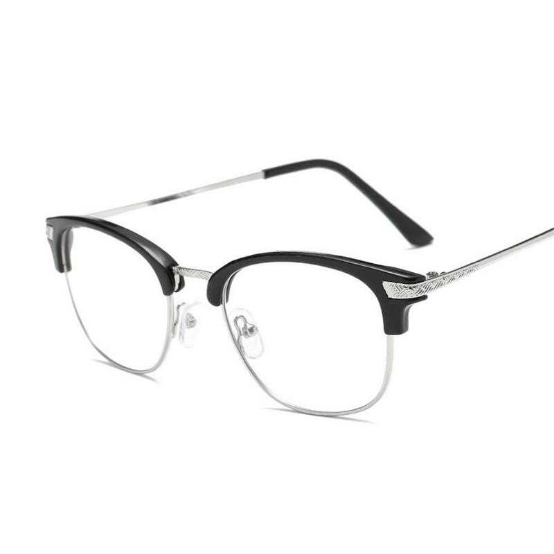 -1,0-1,5-2,0-2,5 Zu-6,0 Metall Rahmen Fertig Myopie Gläser Für Unisex Mode Kurze -anblick Brillen Rahmen Frauen Männer