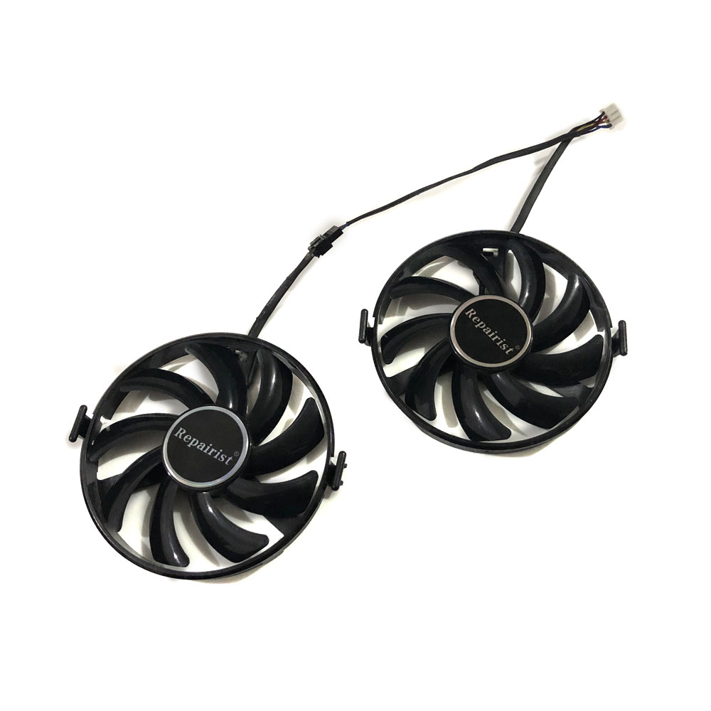 XFX RX 460 GPU VGA Cooler FY09010H12LPB FDC10H12S9-C Cooling Fan For Radeon RX460 rx-460-2gb/4GB Grahics Card As Replacement