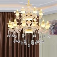Design Industrial Hanglampen Dining Room Kitchen Crystal Hanging Lamp Lampen Modern Suspension Luminaire Loft Pendant Light