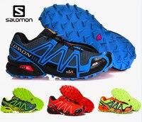 2019 Salomon Speed cross 3 CS Men Running Athletic Zapatillas Sport Outdoor Shoes Solomon Speedcross Male Running Running Muje