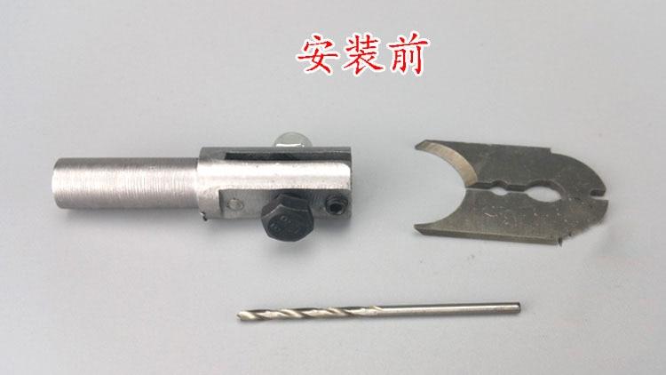 Tungfull 12tk roosikrantsi helmeste vormimisega lõikur nuga palli - Puur - Foto 6