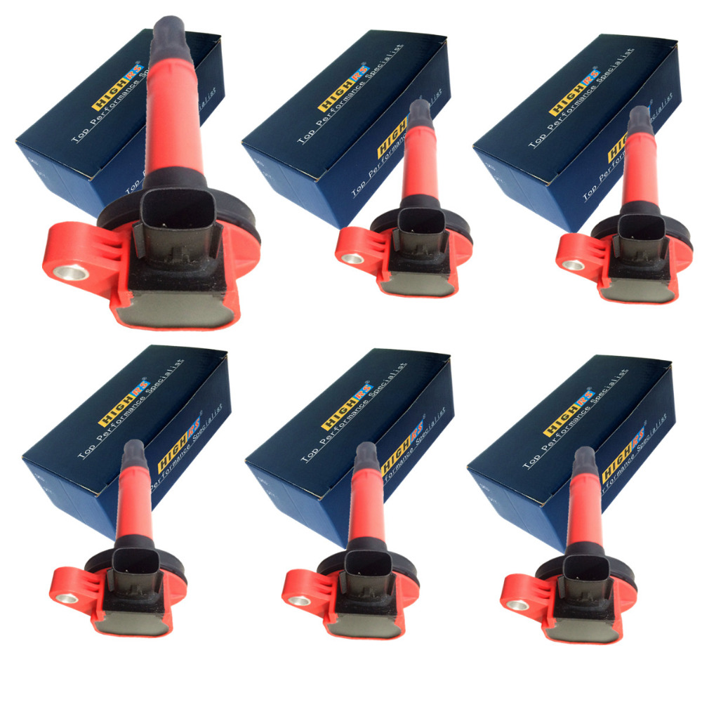 Ignition Coil Packs for Ford Edge Explorer F 150 F150 Flex Fusion Mustang Taurus Lincoln MKS