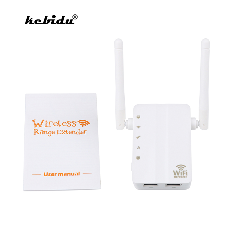 2x Universal WiFi Range Extender 300Mbps Wireless-N AP//Repeater//Router MY