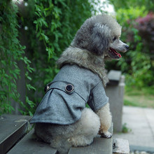 Puppy Pet Dog Cat Jacket Wool Coat Clothes Winter Warm Outwear Costume(China)