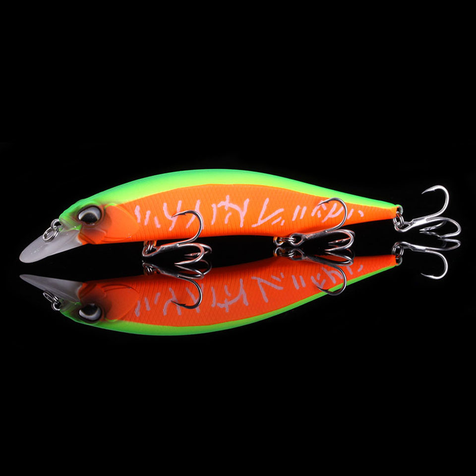 WALK FISH 2019 Professional Floating Fishing Lure 130mm 17.4g Wobbler Minnow Depth Shallow Bass Pike Bait Lure Fishing Tackle