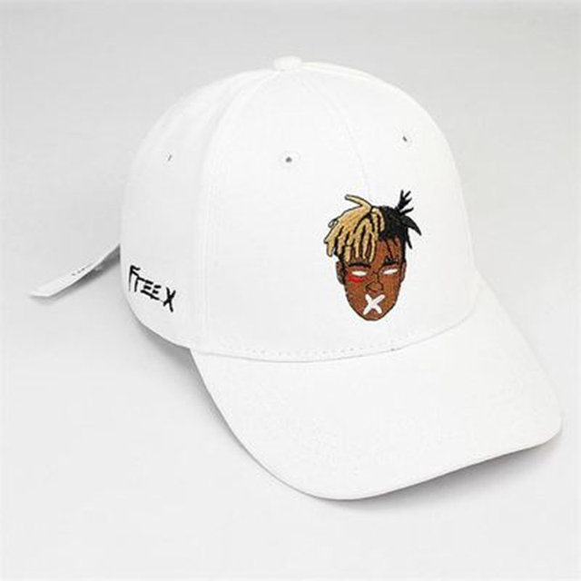 High quality cotton singer xxxtentacion Dreadlocks Snapback Cap for men women Hip Hop dad hat Bone Garros hat