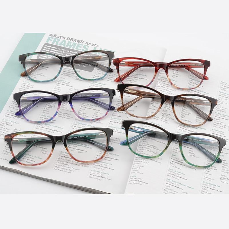 Kirka 2018 Óptica Retro Eye Glasses Frame Unisex Marco de gafas Moda - Accesorios para la ropa - foto 6