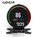 Nueva velocidad Digital Monitor de coche de la pantalla de OBD2 Auto OBD Tuning accesorios velocímetro RPM temperatura Turbo presión