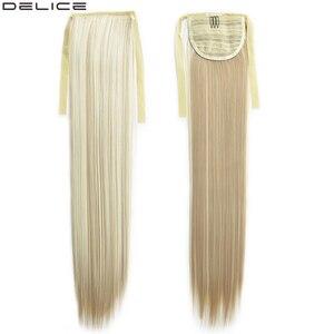 Extensiones de pelo sintético Delice de cola de caballo, de 22