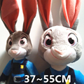 37-55CM Zootopia Zootropolis Animal City Bunny Rabbit JUDY Hopps Police Women Big Size Stuffed Plush Animals Toys Movies & TV