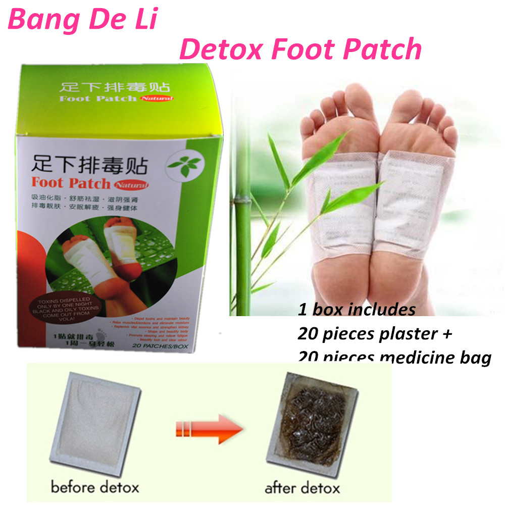 ჱ60 шт./3 коробки Detox патч токсин из организма продукты для ...