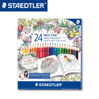 STAEDTLER 144 C24JB 24 colors Water soluble color pencil drawing color doodle pen Stationery Office accessories School supplies
