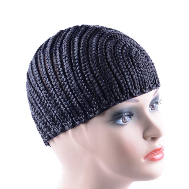 Synthetic Hair Elastic Cornrow Crochet Braided Cap