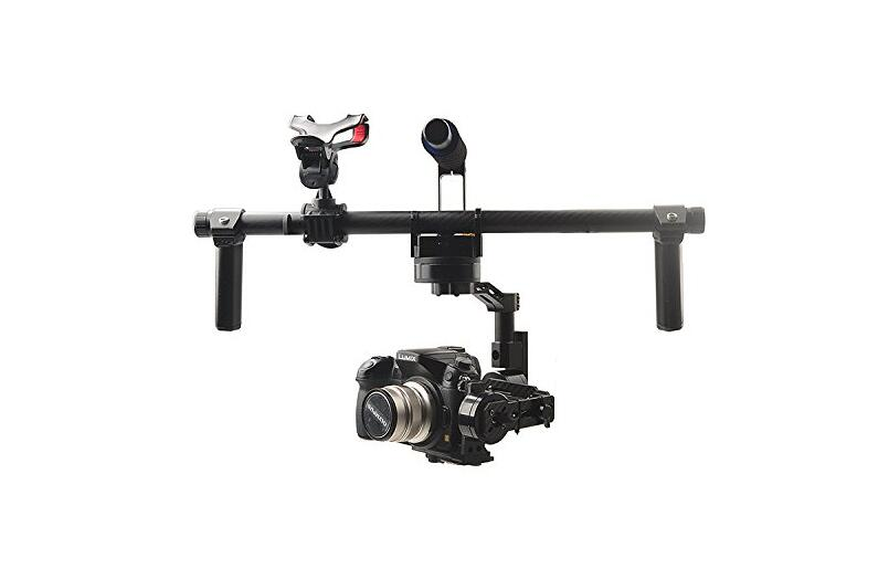 HG3D Universal Handheld 3-Axis Brushless Gimbal Camera Mount for GH3 GH4 NEX5 A5000 A6000 A7 compatible bestablecam h4 rtf brushless handheld encoder mirrorless digital camera gimbal gyro stabilizer for gh3 gh4 a7s nex5 bmpcc