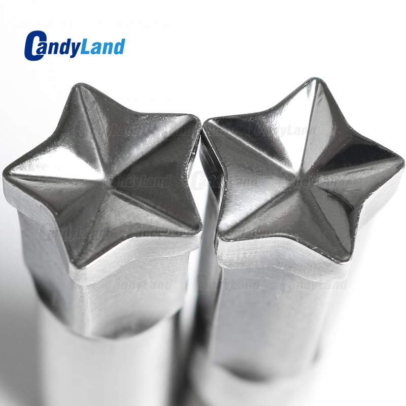 CandyLand Star Milk Tablet Die 3D Punch Press Mold Candy Punching Die Custom Logo Calcium Tablet Punch Die For TDP5 MachineCandyLand Star Milk Tablet Die 3D Punch Press Mold Candy Punching Die Custom Logo Calcium Tablet Punch Die For TDP5 Machine