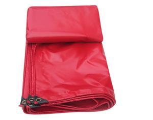 Image 2 - Özelleştirmek 500g/m² çoklu boyutları kırmızı açık su geçirmez tuval kapağı, yağmur PVC branda bez, kamyon branda. Çadır malzemesi