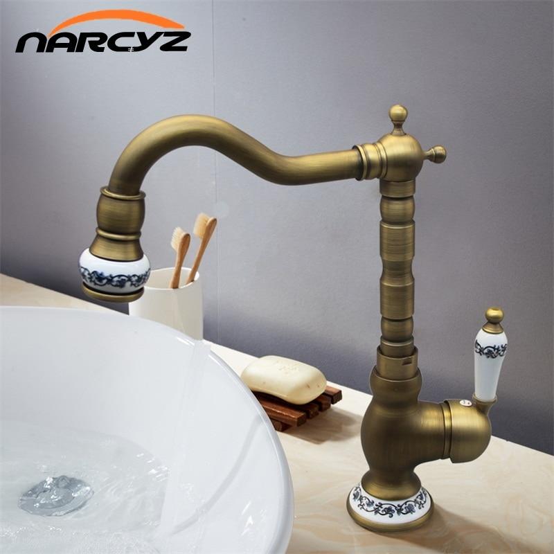 Bathroom Antique Black tap basin faucet kitchen sink tap brass tap torneira banheiro basin mixer water