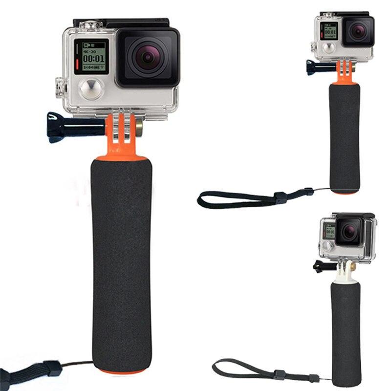 Flottant Main Grip Mini Trépieds Pour Gopro Hero Trépied de Poche Pour Xiaomi Yi D'action Caméra SJ4000 Gopro Accessoire