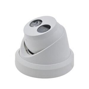 Image 4 - HIKVISION H.265 камера DS 2CD2343G0 I 4MP IR сетевая камера с фиксированной башней мини купольная ip камера слот для sd карты распознавание лица