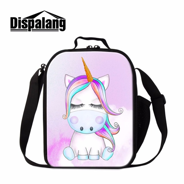 Aliexpress Dispalang Unicorn Messenger Lunch Bag For Children Thermal Container Animal Design Box S Meal Food
