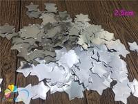2.5cm 1kg/bag Metallic Gold Star PVC Confetti Tossing Wedding Balloon Filling Baby Shower Table Scattering Decorat