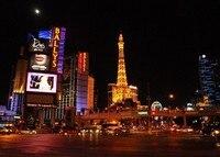 Skyline Da Cidade de Las Vegas Casino Night backdrop Vinyl Computer impresso partido foto fundo do estúdio de pano de Alta qualidade