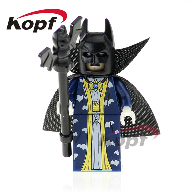 20Pcs Super Heroes Master Batman Apache Chief Crazy Quilt Killer Moth Bat Alfred Building Blocks Toys for children Gift PG423