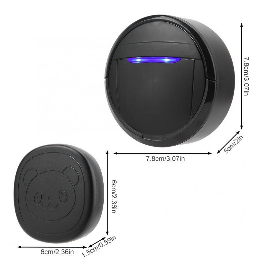 Wireless Waterproof Touch Button Alarm Pet Dog Training Door Bell Emergency SOS Caller Smart Doorbell 0-110dB 5 Level Adjustable-2