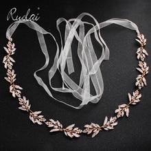 الفضة حجر الراين حزام ثوب الزفاف الزفاف الزنانير الذهب كريستال الشريط حزام الزنانير زنار الماس الزفاف الديكور WS J043